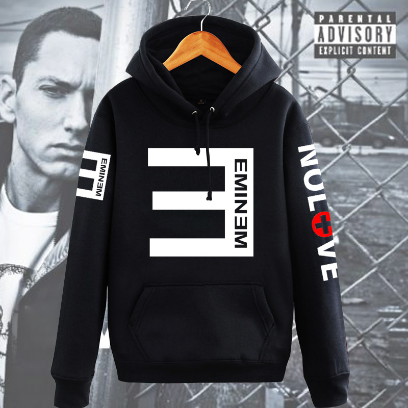 Eminem sweatshirt hiphop thickening pullover sweatshirt with hoodie trend