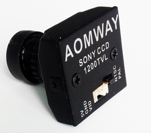 FPV aomway 1200line 960P SONY CCD MINI 5V camera Ultralight for drone through frame