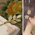 TS003 Menina Moda de metal deixa acessórios para o cabelo hairpin bela noiva cocar Hairwear mulheres jóias