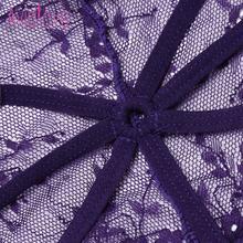 One Piece Lingerie Bodysuit Halter Sheer Lace Teddy Nightwear