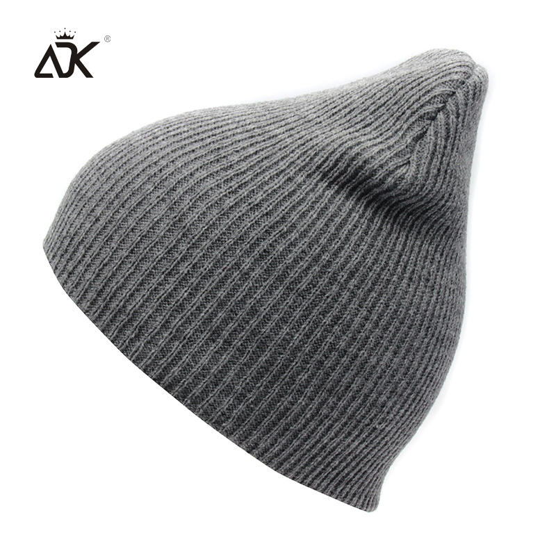 7 Solid Color Knitted Hat For Girls Warm Casual Ski Hat Unisex Autumn Winter Cap Women's Outdoor Bonnet   Skullies     Beanies   For Men