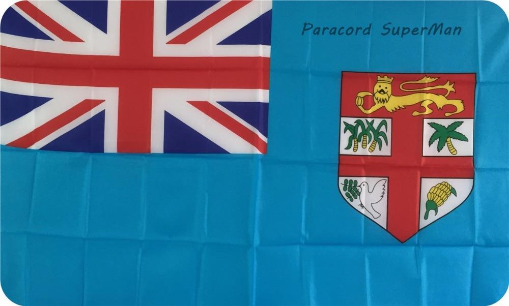Fici FLAG BANNER 3 x5ft asma poliester Fiji Island Banner Bayraq - Komanda idman növləri - Fotoqrafiya 2