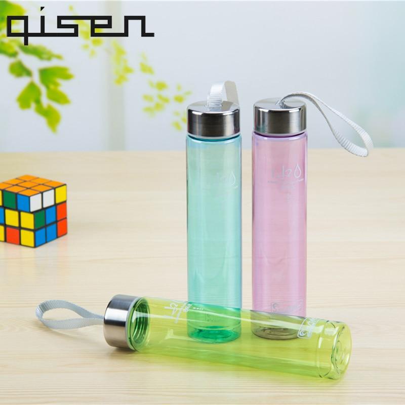 280ML H2O Lemon Juice Bottle Fruit Water Bottle Infuser Drinkware For Outdoor Sports Shaker Bottle BPA Free