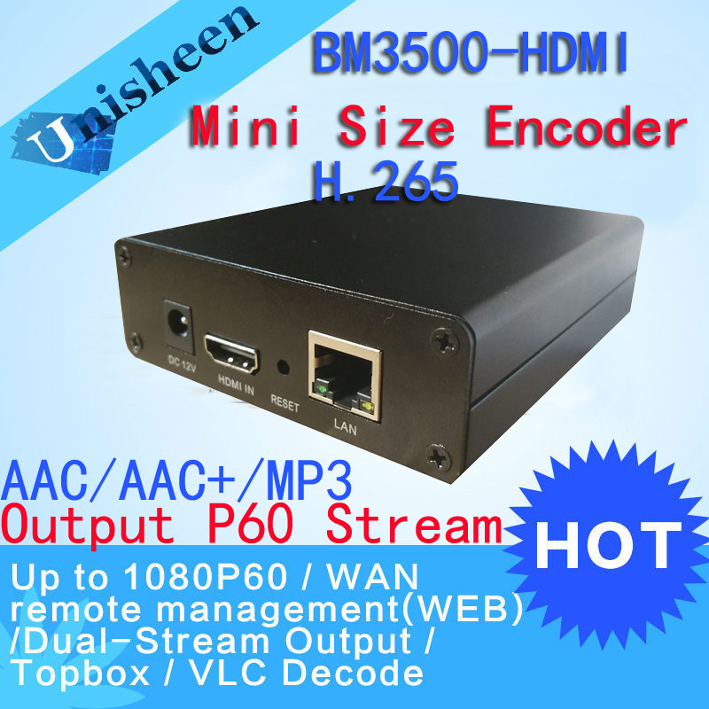H.265 IPTV Encoder HDMI Video Encoder HDMI Encoder,Live Stream Broadcast, works with wowza, xtream codes,youtube