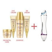 Hot Mini Vibration anti wrinkle Ultrasonic massage eye wrinkles LED light Acne Wrinkle Remover face lifting