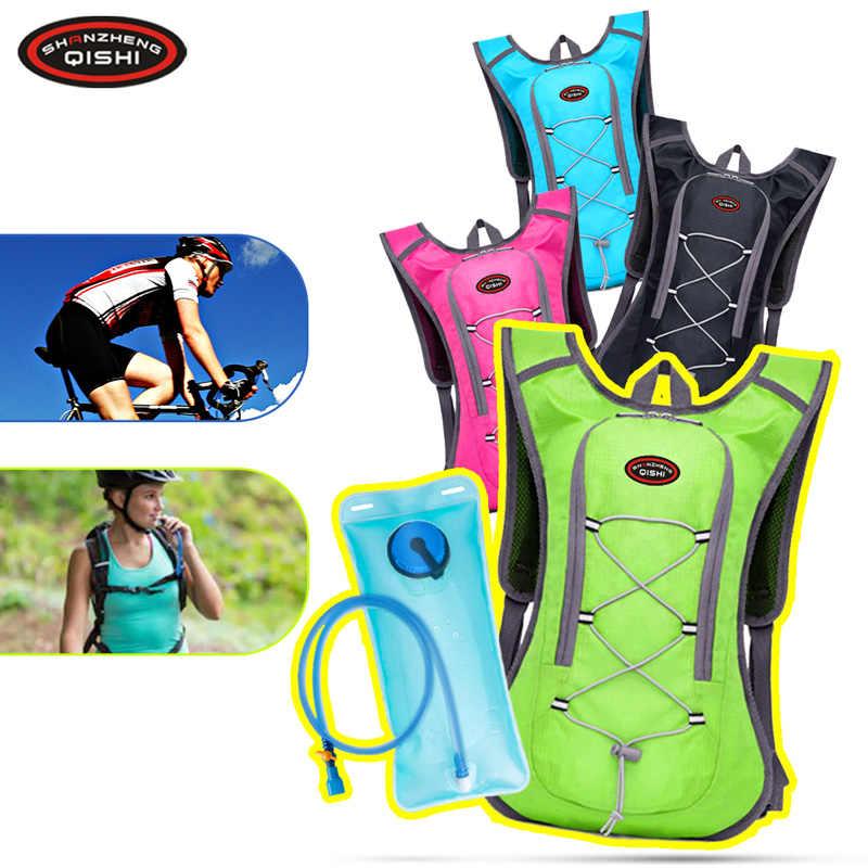 Спортивный марафон, бегущий жилет рюкзак, нейлон, Велоспорт, беговая дорожка для мужчин и женщин, сумка, гидратация, тренажерный зал, бег, аксессуары с 2L, сумка для воды