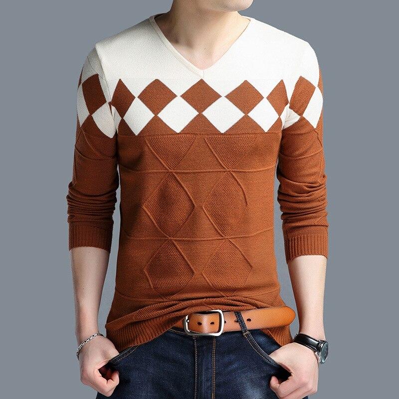 2019 Männer Pullover Pullover Rollkragen Langarm Mode Pullover Slim Fit Casual Camouflage Print Männlichen Gestrickte Tops Winter 3xl Herrenbekleidung & Zubehör Pullover