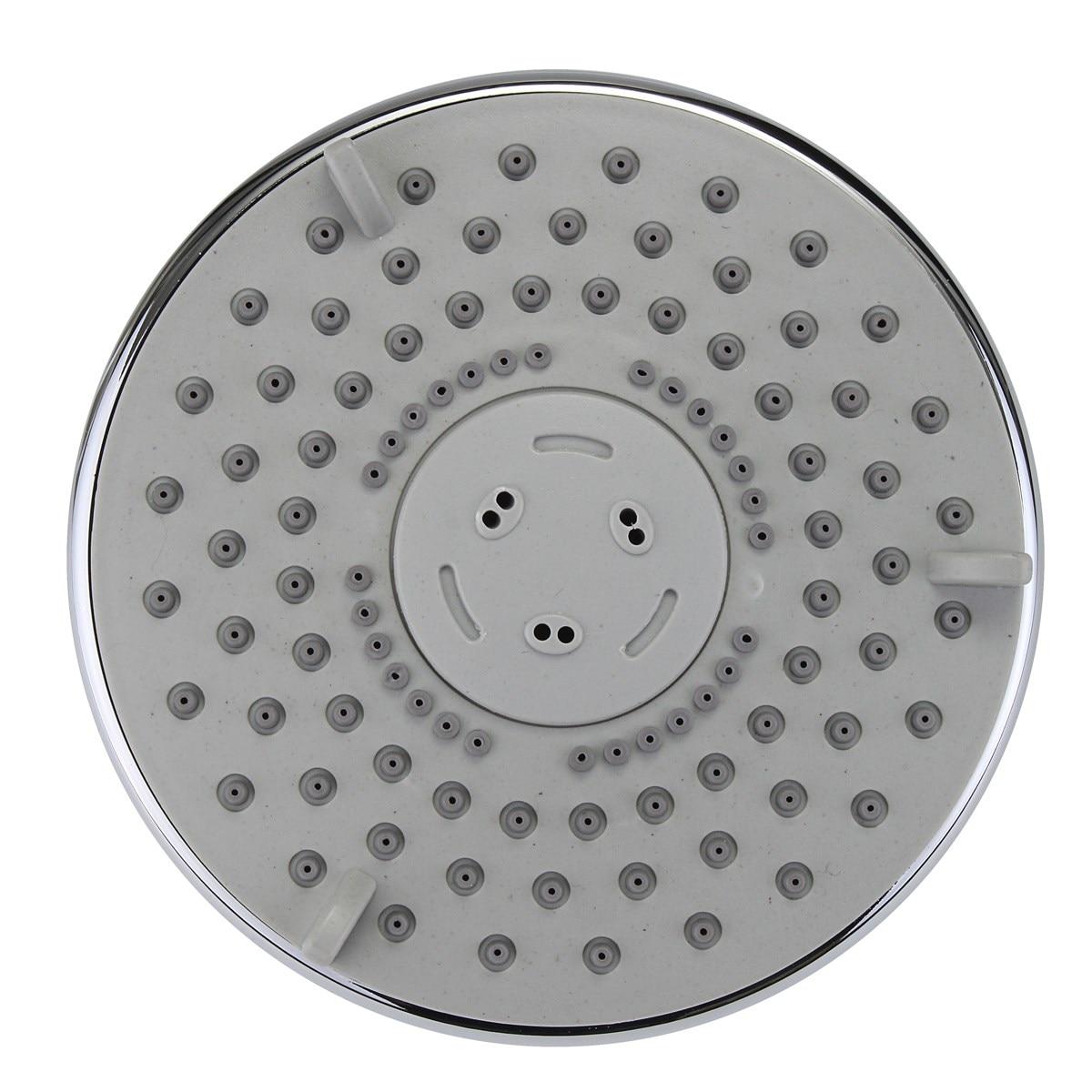 5inch Fixed Shower Head ABS High Press Rainfall Shower Heads Over ...