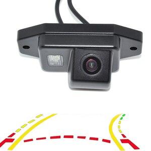 Intelligent Dynamic Trajectory Tracks Rear View Reversing Backup Camera For Toyota Prado Land Cruiser 120 Parking Assistance