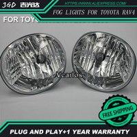 2PCS / Pair LED Fog Light For Toyota RAV4 2004 2005 High Power LED Fog Lamp Auto DRL Lighting Led Headlamp