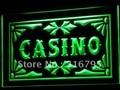 I708 казино пивной бар Игры покер светодиодный неоновый свет вывеска ВКЛ/ВЫКЛ. Переключатель 20 + цвета 5 размеров - фото