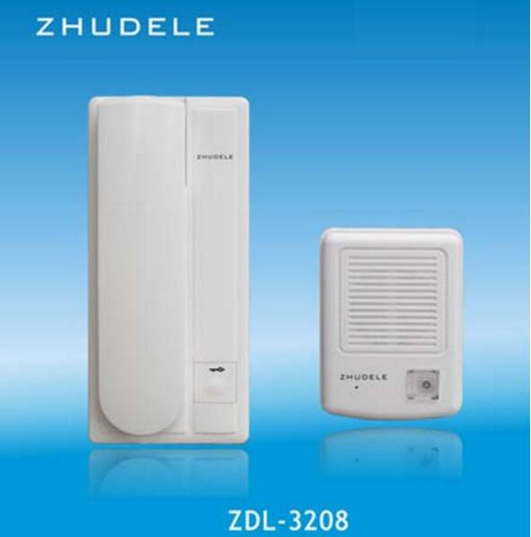 ZHUDELE ZD 3208 Safe&Comfortable Home Interphone Audio Doorbell ,2 ...