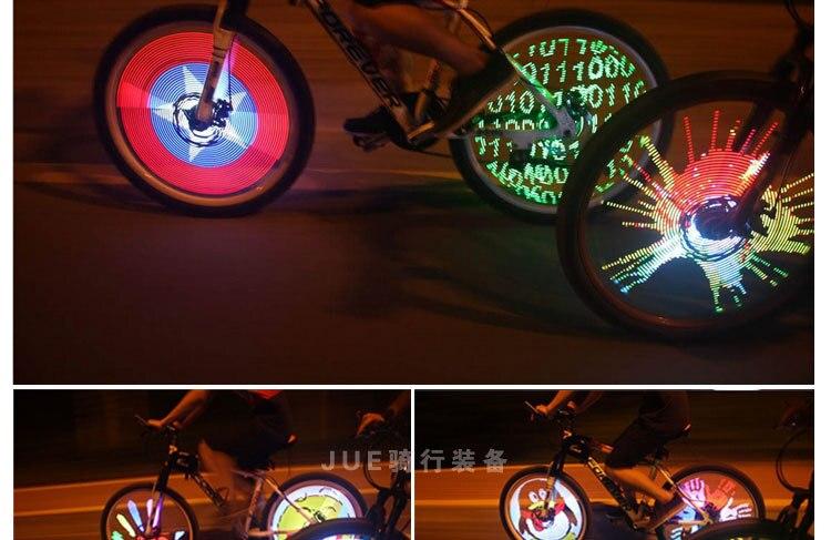 Licht In Fietswiel : Led fietswiel licht pcs box kit apparaat wielen fiets