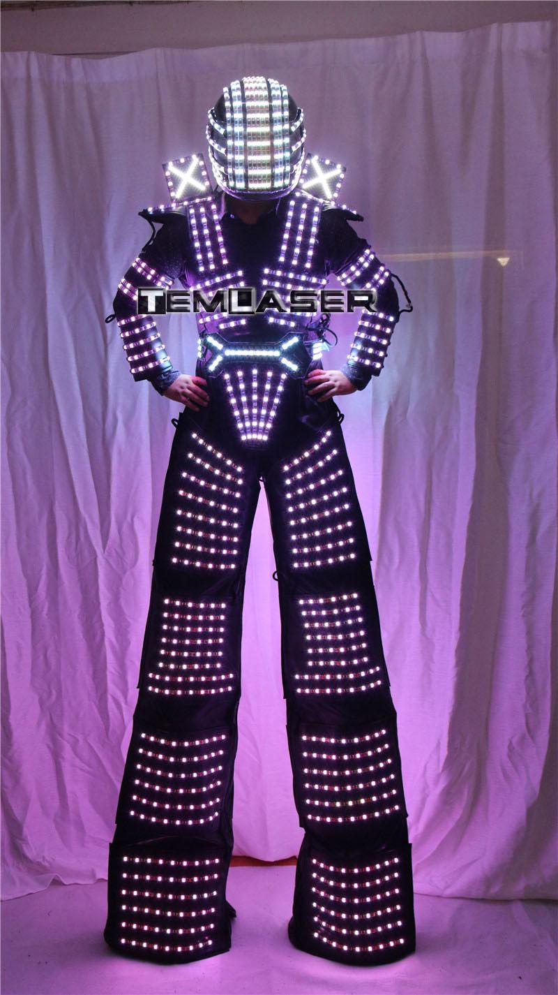 LED robot kostyumu David Guetta LED robot kostyumu - Şənlik aksesuarları - Fotoqrafiya 6