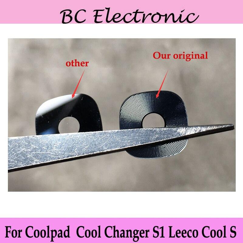 5,5 zoll Für Coolpad/LeEco Kühlen Wechsler S1 Zurück Kamera Abdeckung marke Neue Zurück Kamera Glaslinse Gesicht Für Wechsler S 1