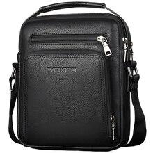 Weixier homens casuais crossbody sacos de couro do plutônio mensageiro saco designer bolsa masculina superior sacos de ombro