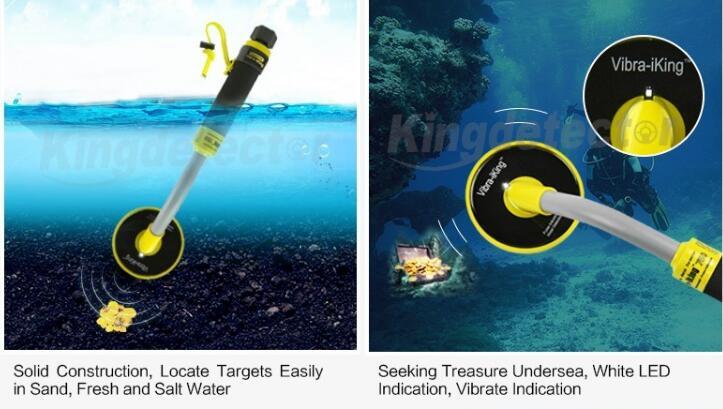Бесплатная доставка IKING 750 импульсов индукции Pinpointer Портативный водонепроницаемые детектор металла
