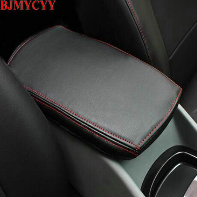 BJMYCYY Car styling Interior trim for automobile armrest case decorative sleeve Accessories Chevrolet Malibu 2018