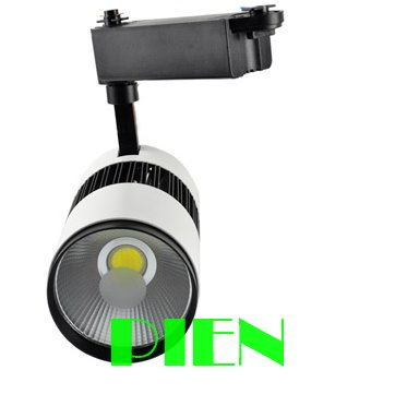 2014 New 30W COB led track light 220V 30W clothing store track spot lamp white high Power CE&ROHS by DHL 10pcs led cob track lights clothing store