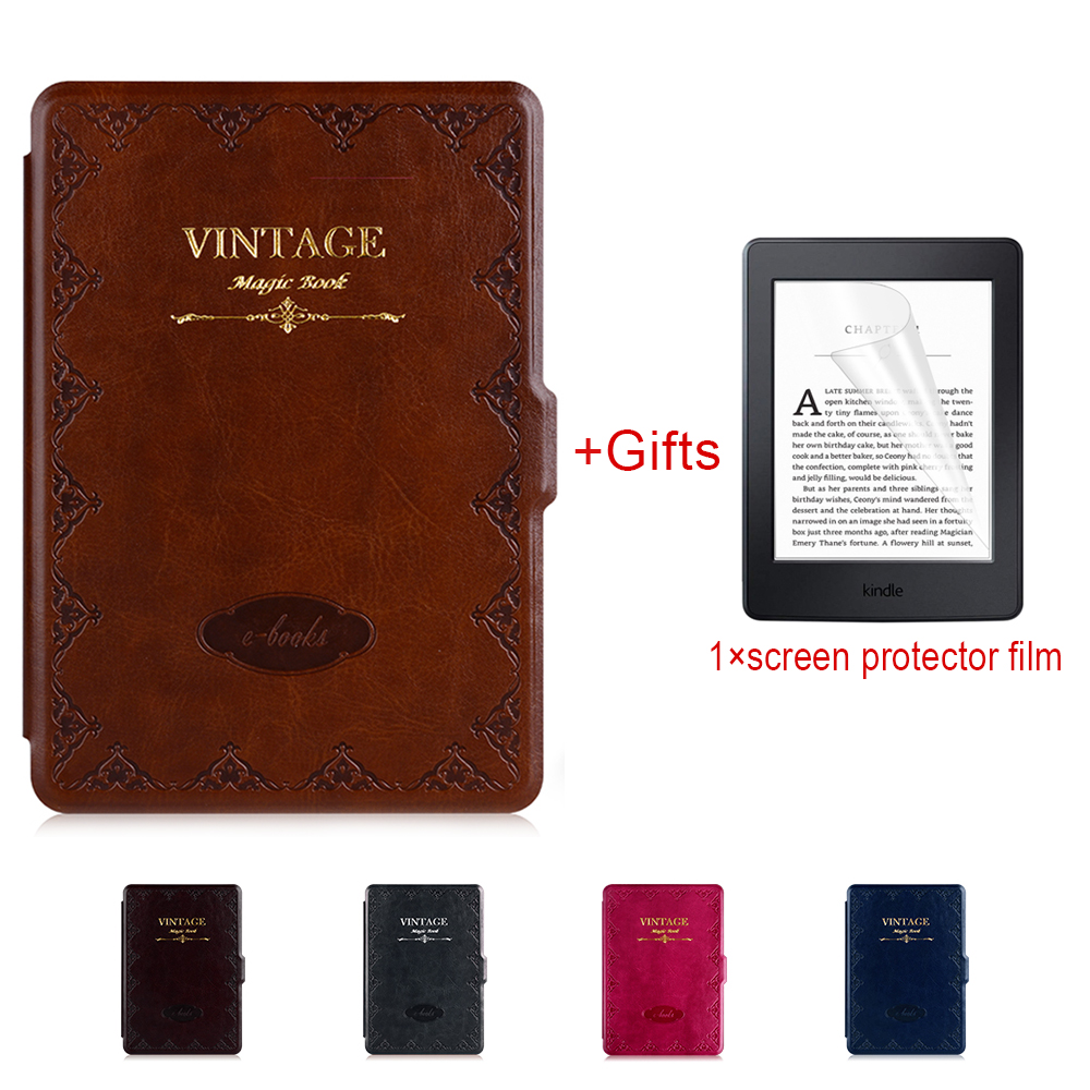Smart Case for Kindle Paperwhite , PU leather cover for Amazon 6