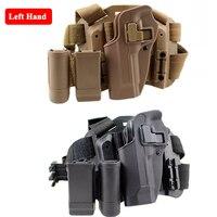 Tactical Beretta M9 92 96 Gun Leg Holster w/ Magazine Pouch Hunting Accessories Left Hand Pistol Quick Draw Gun Carry Holster