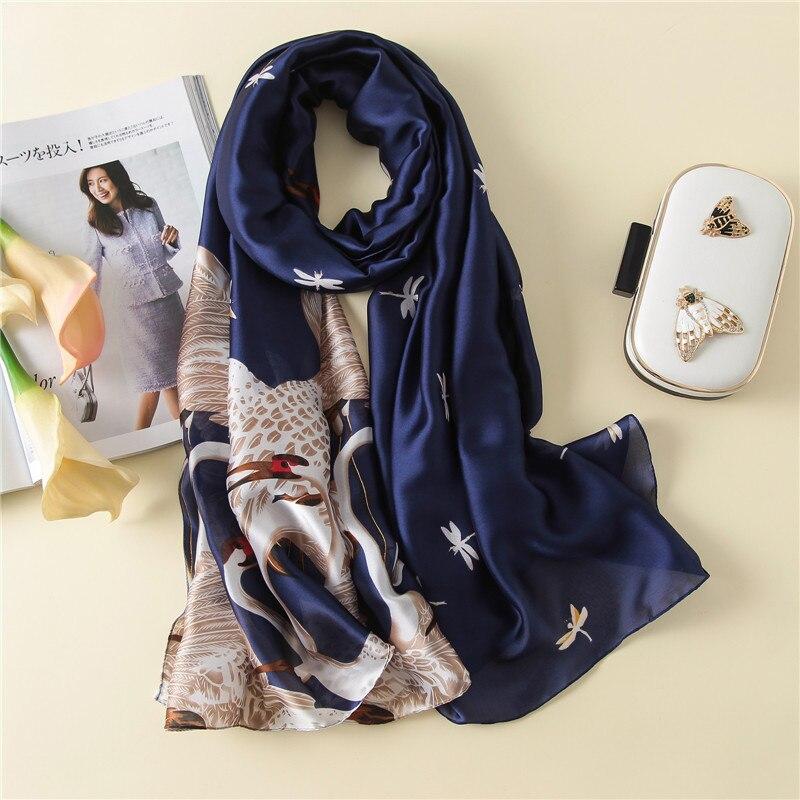 Fashion winter women   scarf   silk   scarves   shawls and   wraps   long size soft bandana pashmina female foulard beach stoles