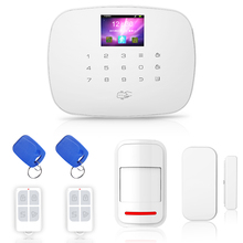 G19 Wireless Wired Home Security GSM Alarm System Anti tamper Samrt Alarm Android IOS APP Remote