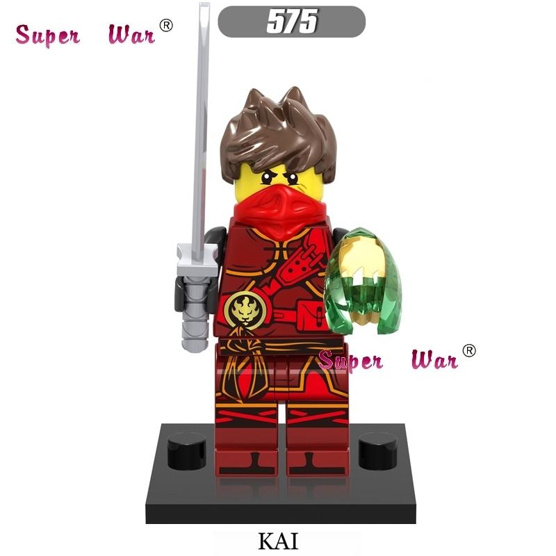 1PCS star wars super heroes marvel dc comics NINJA KAI building blocks models bricks toys for children kits