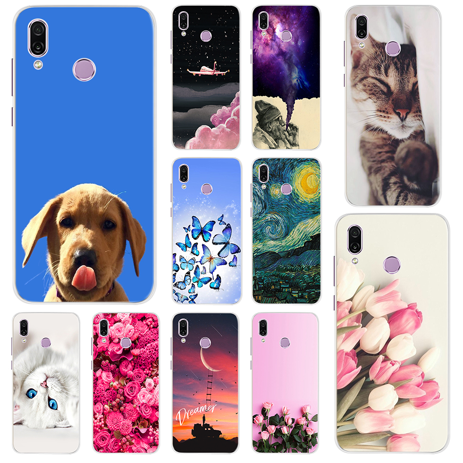 New For Huawei <font><b>Honor</b></font> Play <font><b>Case</b></font> 6.3 Silicone Transparent Soft TPU Phone Bumper For <font><b>Honor</b></font> Play COR-AL10 COR-L29 Back Cover Coque image