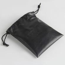 На заказ/оптовая печать логотипа маленький PU луч Карманный мешок ювелирных изделий