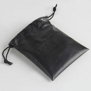 Image 1 - На заказ/оптовая печать логотипа маленький PU луч Карманный мешок ювелирных изделий
