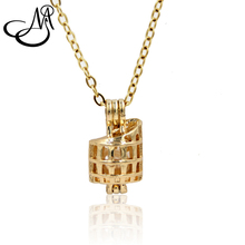 ФОТО 5pcs gold color creative colosseum shape jewelry making supplies alloy beads cage pendant essential oil diffuser trendy locket