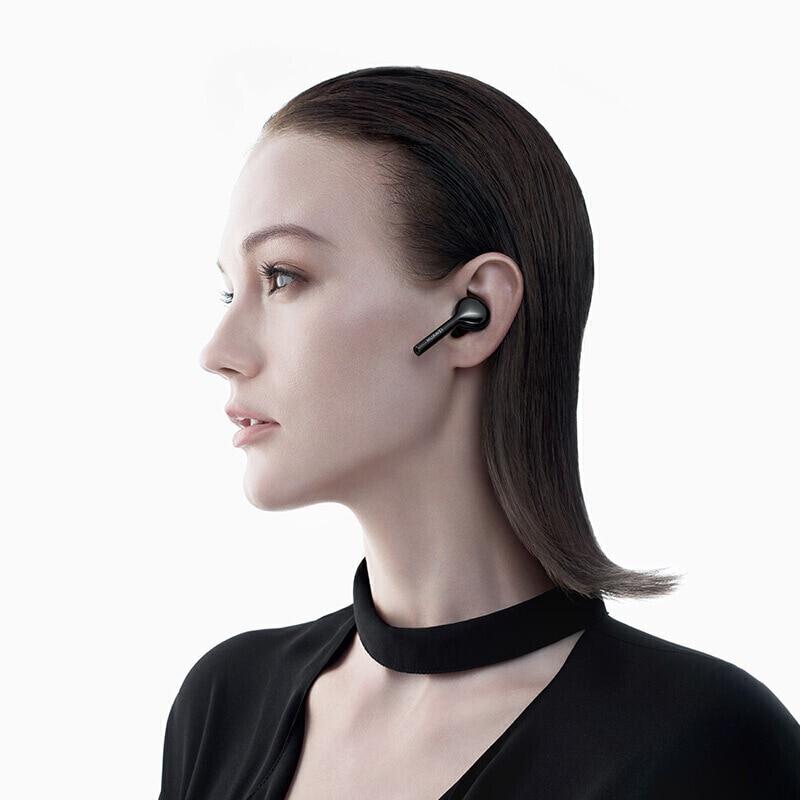 Оригинальные наушники Huawei FreeBuds Lite Enjoy Global Version, беспроводные Bluetooth наушники, водонепроницаемые, IP54, встроенный g сенсор - 5