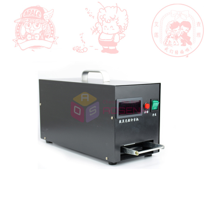 220V Seal Stamping Self Inking Flash DTY Stamps Making Maker Photosensitive Machine