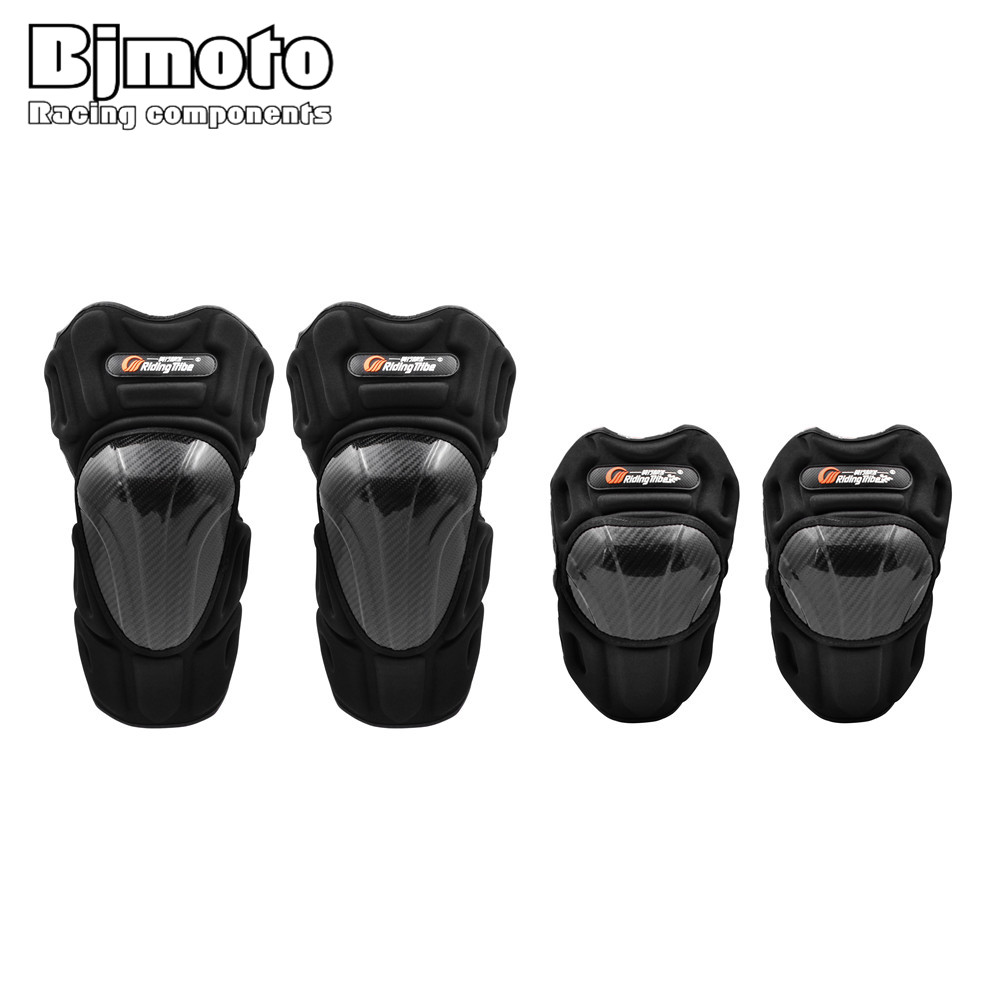 Riding Tribe 4PCS Motorcycle Knee Guard Protector Pads Motocross Protective Scoyco Gear Anti-shock Protecciones