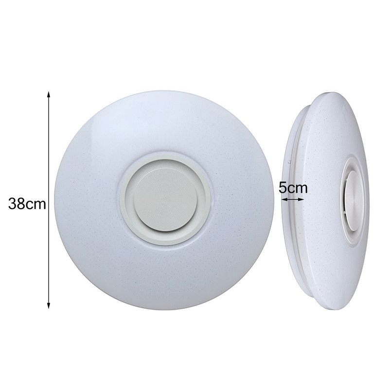 HTB1NFs ainrK1Rjy1Xcq6yeDVXau Smuxi 60W 102LED bluetooth LED Music Ceiling Lights Starry APP/Remote Control Dimming RGB bluetooth LED Lamp AC180-240V Fixtures