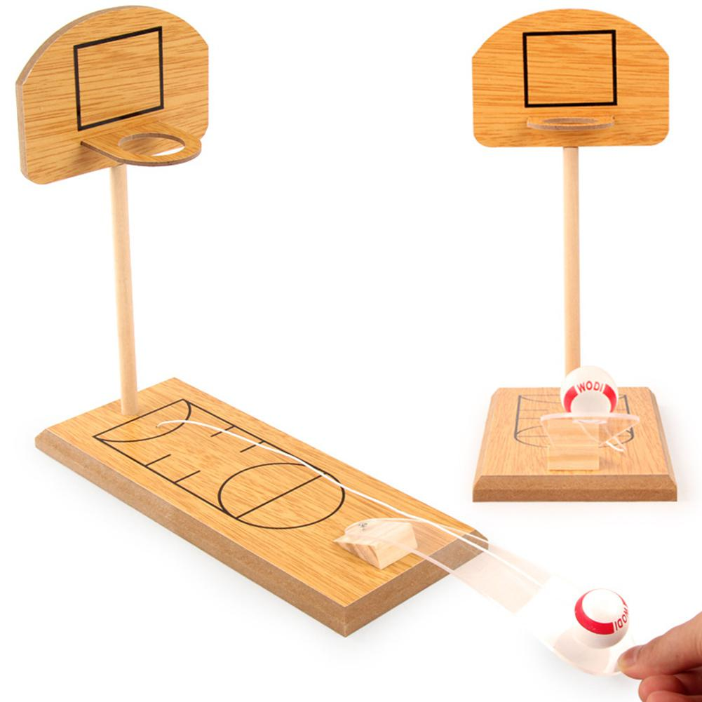 Desk Toy For Children Toy Mini Wooden Basket Funny Game Parent-Children Desktop Educational Game Toy