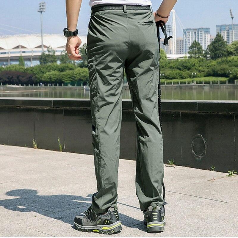 дешево!  Cysincos Мужчины Открытый Quick Dry Пешие Прогулки Брюки Свободные Бег Дышащие Брюки Твердые Прямые
