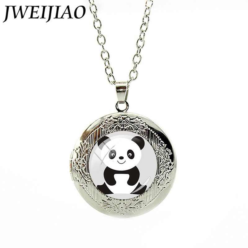 JWEIJIAO New Fashion Jewelry Cute Panda s