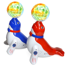 Buy Small Sea Lion With Ball Sing Dance Interactive Toys Electronic Toys For Children Electronic Pet Robot Dog Lol Christmas Gifts directly from merchant!