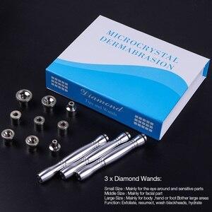 Image 5 - 3 ב 1 יהלומי Microdermabrasion Dermabrasion מכונה מים תרסיס קילוף יופי מכונת הסרת קמטים פנים קילוף ספא