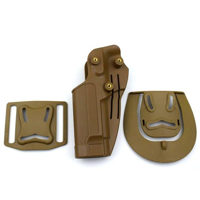 Military Belt Holster Beretta M9 92 96 Pistol Gun Carry Case Tactical Hunting Airsoft Gun Holster Left / Right Hand 6