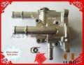 Carcaça Do Termostato de Arrefecimento Do Motor de alumínio Capa para Cruze Opel Astra 96984103 96817255