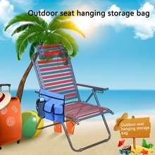 NEW Fishing Beach Chair Hanging Storage Bag Phone Sunglasses Water