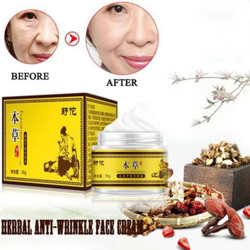Facial Plain Anti-wrinkle Moisturizer Face Cream Vitamin Collagen Retin Anti Aging Wrinkles Acne Hyaluronic Acid Bb White Cream(China)
