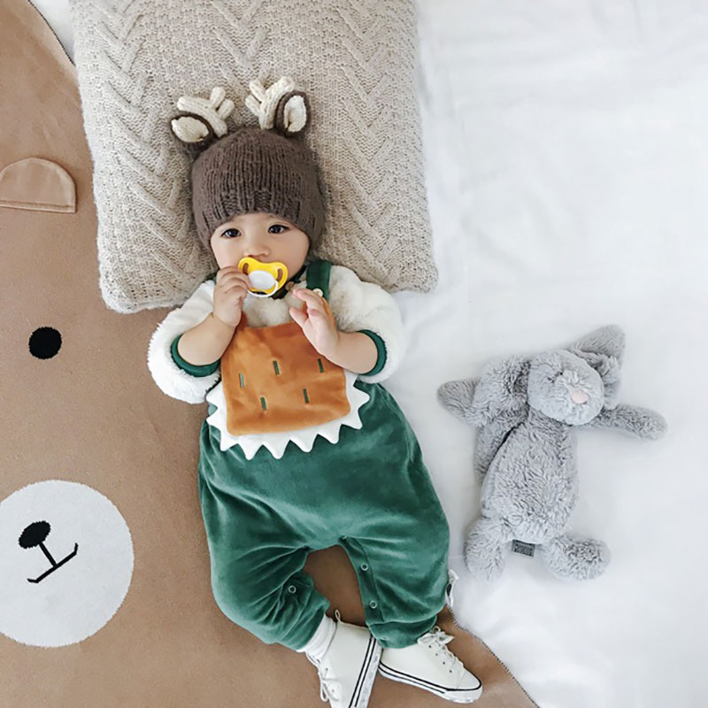 Bib Pants Baby Pants 2018 Autumn Winter Comfortable Plus Velvet Warm Baby Boys Pants Kids Baby Girls Toddler Girls Cute Clothes монитор жк acer v226hqlabmd 21 5 черный [um wv6ee a09]
