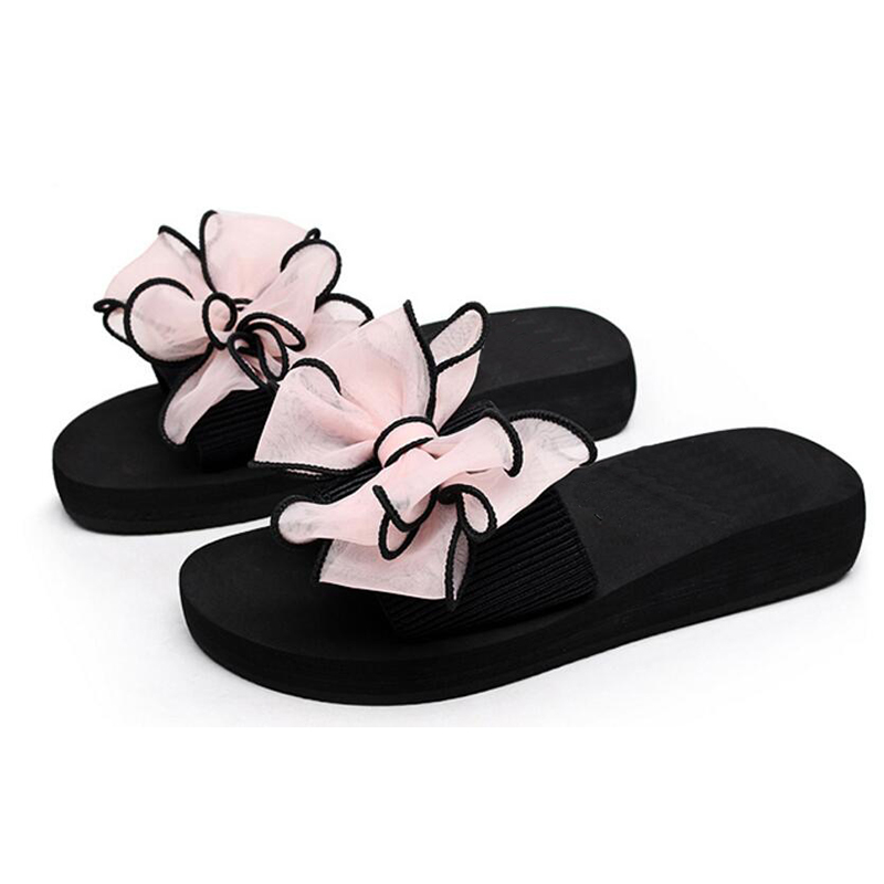 735cfb7c 2017 Bow Thong Jelly Shoes Woman Jelly Flip Flops Women Sandals ...