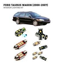 Led interior lights For Ford taurus wagon 2000-2007  12pc Lights Cars lighting kit automotive bulbs Canbus