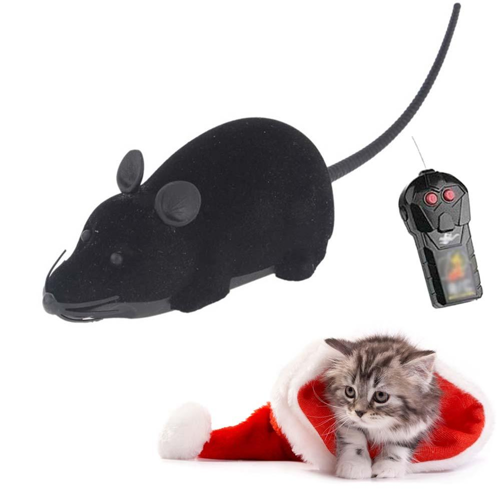 Remote Control RC Rat Mouse Wireless For Cat Dog Pet Funny Toy Novelty Gift A