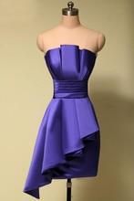 Sexy kurzen lila prom dress günstige 2016 vestido formatura curto liebsten cocktailparty-kleider